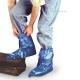 Бахилы защитные до колена на обувь